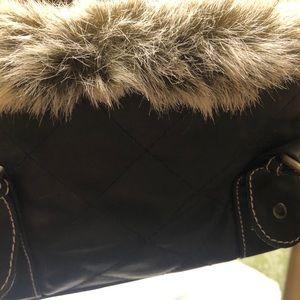 Trendy Faux Fur Handbag🧡